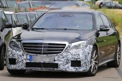 新款梅赛德斯-AMG S63谍照 2017年亮相