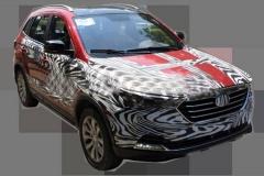一汽奔腾小型SUV最新谍照 将于年内发布