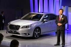 斯巴鲁力狮新增EyeSight车型 售26.28万