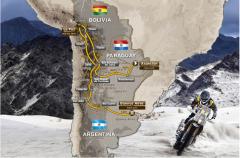挑战极限 2017达喀尔拉力赛路线公布