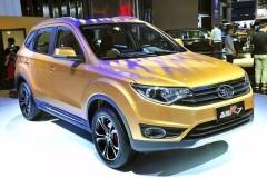 7万级自动档SUV上市 森雅R7让广州车展更有看头