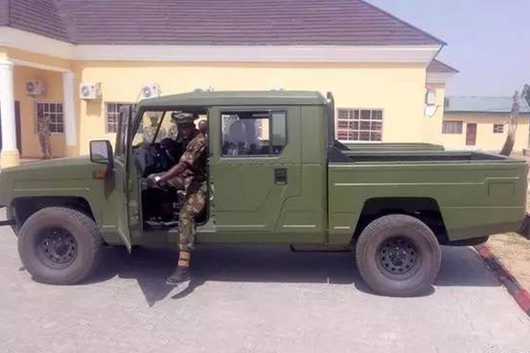 尼日利亚引入中国勇士军用越野车生产线
