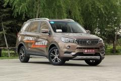 斯威X7 1.5T车型上市 售9.09-10.69万