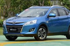 纳智捷新款优6 SUV最新谍照 增1.6T发动机