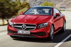 全新奔驰E级Coupe 海外41,220欧元起售