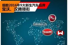 宝沃汉腾领衔 细数2016年9大新生品牌
