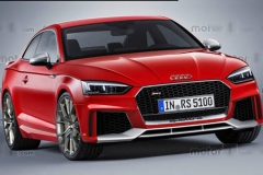 全新奥迪RS5 Coupe假想图 搭2.9T发动机