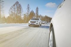 凯迪拉克XT5冰雪试驾 这点儿雪算什么