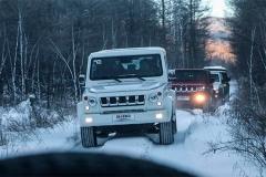 白色丛林穿越 北京BJ系列阿尔山冰雪体验
