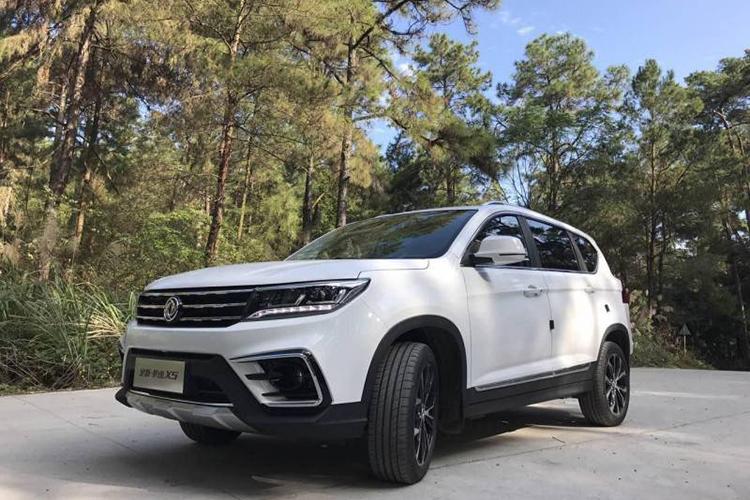 试全新风行景逸X5 高水准SUV仅售8万