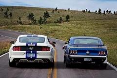 福特野马各年代车型 品味美国的汽车文化