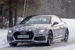 全新奥迪RS5 Coupe最新谍照 动力更强
