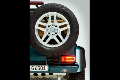 奔驰G65 4x4²敞篷版宣传图 日内瓦车展发布
