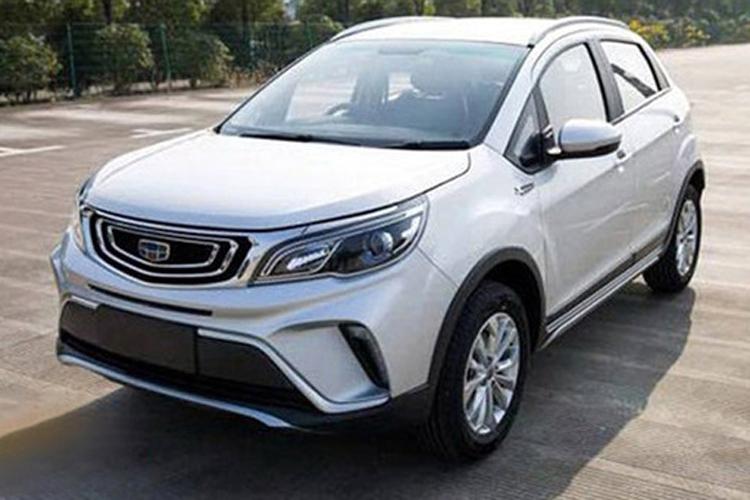 吉利将推第二款小型SUV 采用博越式设计