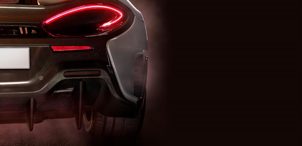 迈凯伦600LT预告图发布 将于近期亮相
