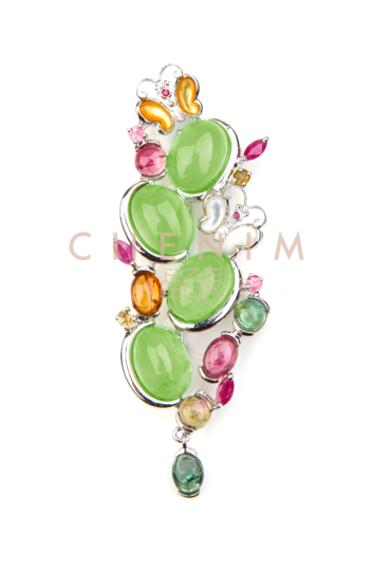 不一样的色调相遇时-晶石灵宝石携手刘嘉玲,诠释彩宝真美生活图片