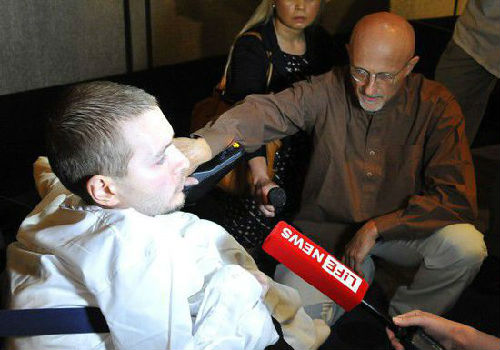 此前报道称,俄罗斯男子瓦列里·斯皮里多诺夫将是全球首例换头手术病患。(资料图片)