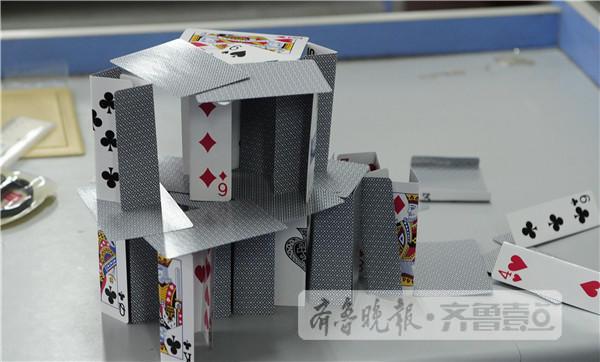 扑克笔筒的折法步骤图解