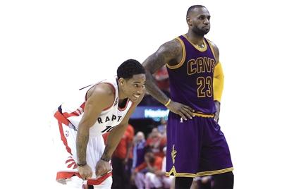 NBA东部决赛明上演第4场 猛龙要生吞骑士扳平