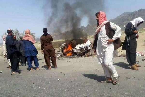 美国白宫周一证实,塔利班最高领导人曼苏尔在周六的空袭行动中死亡。(网页截图)