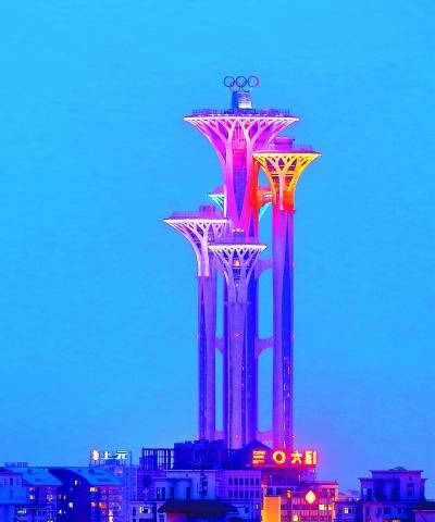 北京奥林匹克塔下月开放