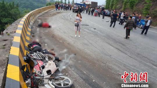 四川宣汉发生一起连环交通事故已知有3人遇难