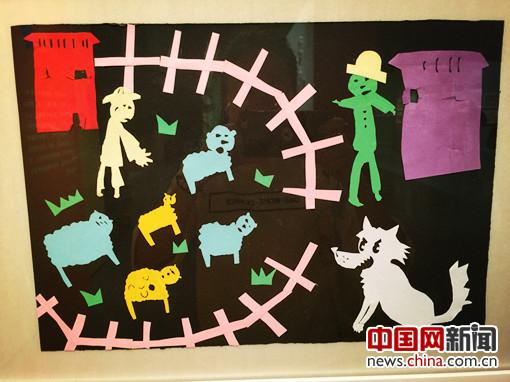 第三届全国儿童剪纸作品展开幕 促进剪纸教育发展