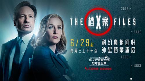 科幻剧鼻祖归来 《x档案》登陆乐视影视会员
