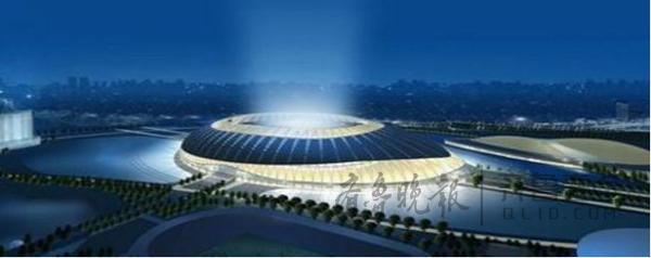 泰安高铁新区南片区拟建新体育中心综合体