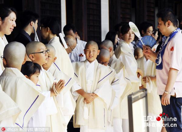 日本140名孩童剃度 光头小和尚萌萌哒(高清组图)