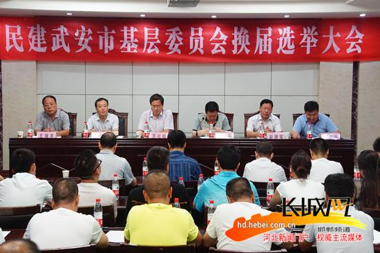 武安市委领导-民建武安市基层委员会换届选举大会顺利召开图片