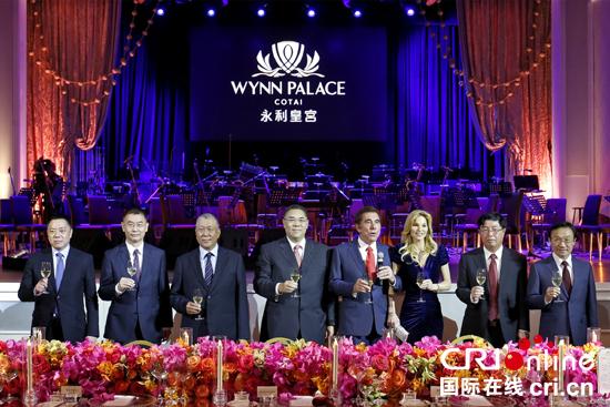 澳门行政长官崔世安出席永利皇宫度假村开幕晚宴