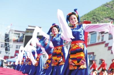 西藏昌都市第二届三江茶马文化艺术节圆满闭幕