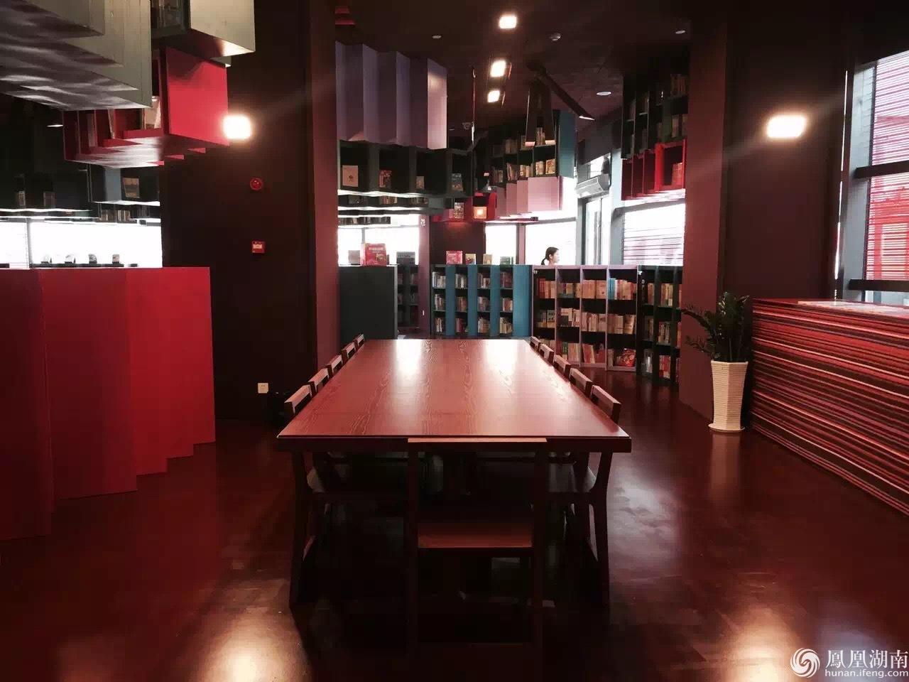 梅溪书院设计师:中国红的书店是长沙独有建筑