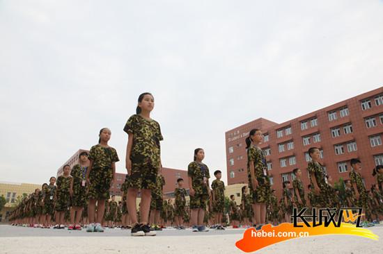 邢台思源v意志意志入学第一课毕业炼初中军训学校高中多还是图片
