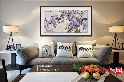 客厅装饰画图片大全 时尚有好看的装饰画赏析