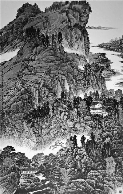 山水(中国画)