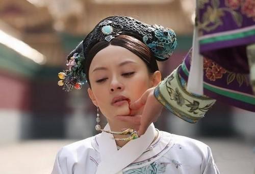 凭借《甄嬛传》一炮而红的孙俪让我们记住了这个美丽的娘娘.图片