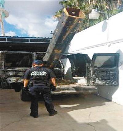 墨西哥毒贩用大炮向美国运毒