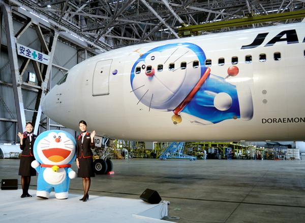 飞机投入国际航线