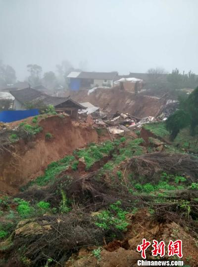 云南省楚雄州南华县滑坡地质灾害:灾民生活得到妥善安置