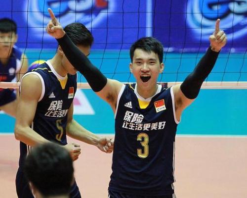 亚洲杯-中国男排3-0横扫澳大利亚 次局32-30进4强