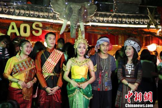 华裔大学境外生自办美食节校园文化异域风情万种