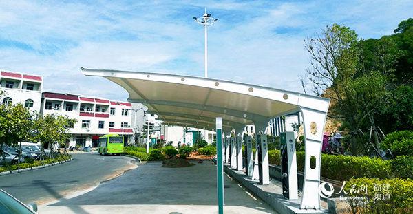 在妈祖故里,福建省莆田市湄洲岛国家旅游度假区建成通电.