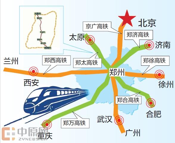 郑州到太原只需2小时