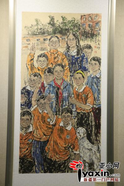 直播 民族团结一家亲 桑皮纸上的中国画 开幕式