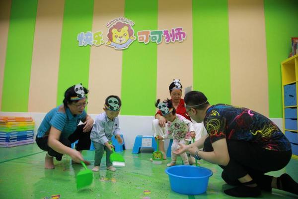 快乐可可狮联合早教中心 打造分月龄早教课程