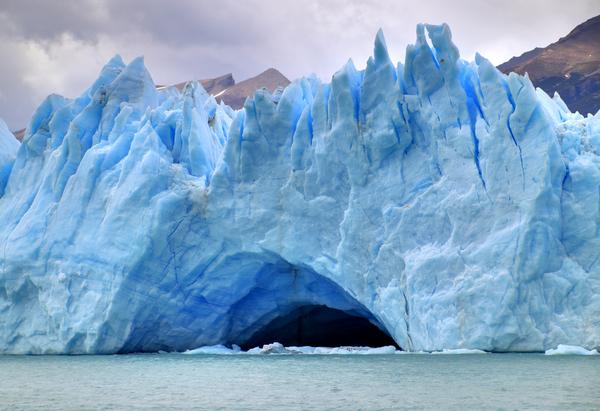 阿拉斯加冰川风景图
