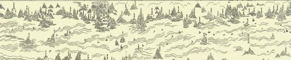 《万里长江图》告诉我们:金沙江是长江的正源图片