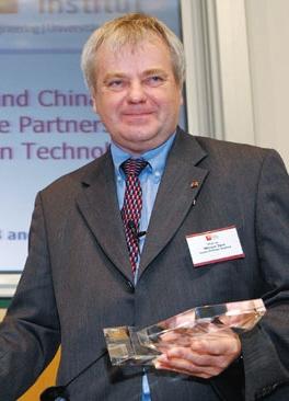 德国互联网之父哈索·普拉特纳研究所教授
